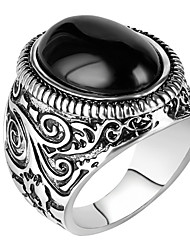 Муж. Массивные кольца Кольцо Уникальный дизайн бижутерия Мода Винтаж По заказу покупателя Euramerican Pоскошные ювелирные изделия