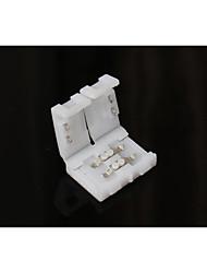 Conector sem solda de 2 pinos de 5 pinos para luzes de tira led de 50 mm de uma única cor