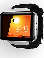 Муж. Смарт-часы Цифровой силиконовый Группа Черный