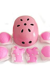 Niños Adulto Equipo de protección Rodilleras, coderas y muñequeras Casco de patinaje para Ciclismo Patinaje sobre hielo Skateboarding