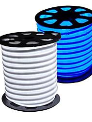 36W Tiras LED Flexibles 3350-3450 lm AC110 AC220 V 5 m 300 leds Blanco cálido Blanco Azul