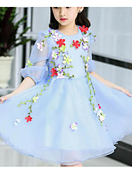Girl's Cartoon Dress