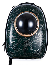 Cat Dog Carrier & Travel Backpack Pet Carrier Portable Breathable Cartoon Jade