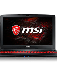 MSI gaming laptop 15.6 inch Intel i5-7300HQ 8GB DDR4 1TB HDD Windows10 GTX1050Ti 4GB GL62M 7REX-1642CN backlit keyboard