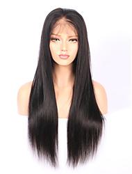 180% de densité 360 perruques en dentelle avec cheveux bébé 100% cheveux humains 8 '' - 22 '' 360 perruque frontale en dentelle en laine