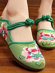 roupas femininas tela plana prática bege verde roxo