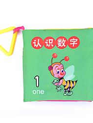 Educational Flash Cards Square 1-3 years old Tear No Bad Book