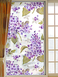 Window Film Window Decals Style Diffuse Orchid Grind Arenaceous PVC Window Film- (60 x 116)cm