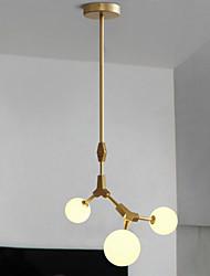 Luz pendente de 40w, característica de pintura tradicional / clássica para estilo mini madeira / sala de bambu / quarto / sala de jantar /