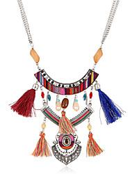Femme Collier court /Ras-du-cou Pendentif de collier Colliers Déclaration Forme Géométrique Alliage de métal Résine StrassOriginal