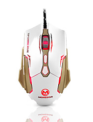 Morzzor mz 15 3200dpi 7kk souris de jeu usb avec câble 151cm