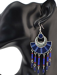Women's Drop EarringsBasic Unique Design Pendant Tassel Circle Friendship Oversized Hypoallergenic Multi-ways Wear Cute Style Durable