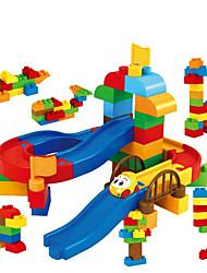 Streckensets Spielzeuge Kunststoff Naturholz