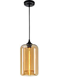 Новый простой современный современный висячий 6 цветной стеклянный шар подвесной светильник светильники светильники e27 / e26 для кухни