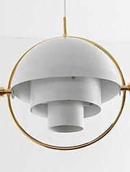 Post moderno estilo da Europa rote a lâmpada de lustre de sombra para o quarto / sala de estar / cantina / bar / entrada decorar