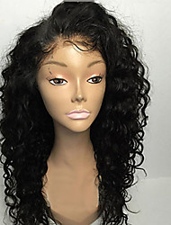 180% Density Brazilian Virgin Hair Lace Wigs Kinky Curly Lace Front Human Hair Wigs Virgin Remy Hair Wig for Black Woman