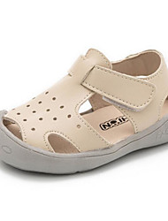 Girls' Flats Comfort First Walkers Leatherette Spring Casual Comfort First Walkers Yellow Beige Black Flat