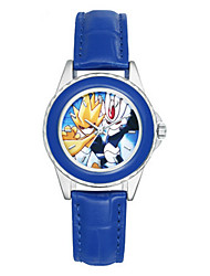 Kid's Fashion Watch Quartz Leather Band Blue
