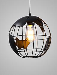 Flush mount moderne / globe lamp / lodge nature inspiré chic&Caractéristiques de la peinture rétro traditionnelle classique classique