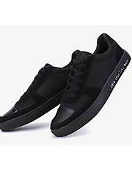 Herren Sneaker Leuchtende Sohlen Stoff Frühling Normal Leuchtende Sohlen Weiß Schwarz Flach