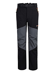 Men Outdoor Pants/Bottoms Thermal / Warm/Windproof/Waterproof/Rain-Proof/High Breathability Winter/Autumn/Spring Camping & Hiking