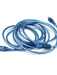 USB 2.0 Câble, USB 2.0 to Type Micro USB B Câble Male - Male 3.0M (10Ft)