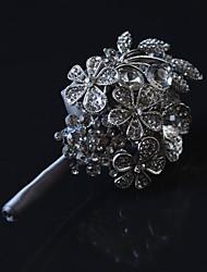 Свадебные цветы Бутоньерки Свадебное белье Металл Около 5 см