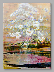 IARTS®  Oil Painting Vintage Floral Abstract Art Acrylic Canvas Wall Art For Home Decoration