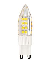 4W G9 LED Lamp PVC Ceramic Candle Bulb Chandelier 51 SMD 2835 380 lm  AC 220V - 240V Warm/Cool White (1 pcs)