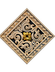 Dark Stone Carving Decorative Pattern Sticking Decorative Pvc Of The Bedroom And The Living Room