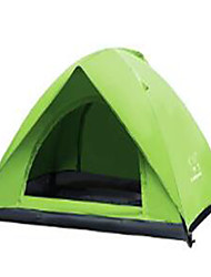 2 persons Travel Bag Inflated Mat Beach Tent Double Camping Tent Fold Tent Keep Warm Rain-Proof for CM Stretch Satin
