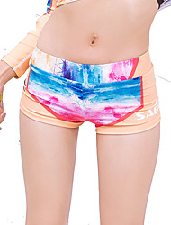 Mulheres Passeios de barco Resistente Raios Ultravioleta Elastano Terylene Fato de Mergulho Anti Atrito Calças-Natação Praia Surfe