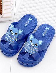 Girls' Slippers & Flip-Flops Comfort PVC Summer Casual Comfort Blushing Pink Blue Fuchsia Flat
