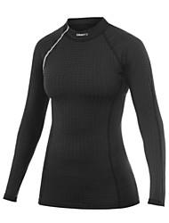 Women's Running Sweatshirt Fitness, Running & Yoga Autumn/Fall Winter Sports Wear Running/Jogging Tight