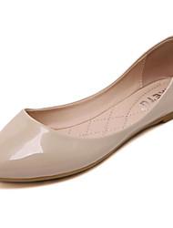 Women's Heels Basic Pump PU Spring Casual Basic Pump Blushing Pink White Gold 1in-1 3/4in