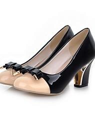 Для женщин Обувь на каблуках Туфли лодочки Искусственное волокно Полиуретан Весна Лето Свадьба Для вечеринки / ужина Для праздникаТуфли