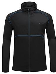Велоспорт Верхняя часть С защитой от ветра Дожденепроницаемый Пригодно для носки Без статического электричества Удобный Терилен Отдых и