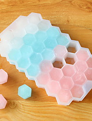 Creative Silicone Non-toxic Covered With Honeycomb Ice Cubes To Do Ice Mold