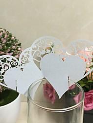 Papel Acetinado Decorações do casamento-50Peça/ConjuntoCasamento Festa Ocasião Especial Halloween Aniversário Recém-Nascido Festa/Eventos