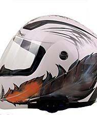 Medio Casco Moldeado al Cuerpo Compacto Respirante Mejor calidad Media concha Deportes ABS Los cascos de motocicleta