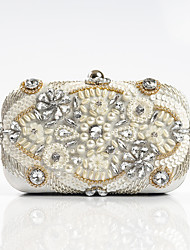 L.WEST Woman fashion diamond Hand Beaded Evening Bag