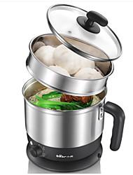 Cocina Aleación Aluminio 220 V Pote instantáneo Vaporizadores de comida