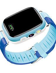 Kid's Smart Watch Fashion Watch Digital Water Resistant / Water Proof Rubber Band Blue Pink