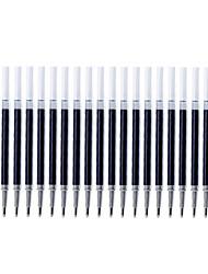 Ручка Сменные блоки Ручка бочка Цвета чернил For Школьные принадлежности Офисные принадлежности В упаковке 20