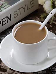 Café continental café americano xícara de café xícara de café branco porcelana