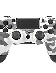 Dualshock4 Wireless Bluetooth Controller Gamepad for PS4/PS4 Slim/PS4 Pro Game Console-Amy Color
