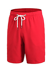 Men's Low Rise Micro-elastic Active Shorts Pants,Active Loose Solid