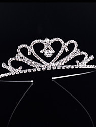 2017 Nes Fashion Bride Crown Hair Hoop Bridal Crown Kid Jewelry Diamond of the Girls Tiaras Wedding Gifts Headwear Accessories Women