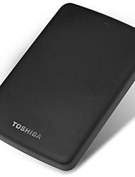 Toshiba 2tb 2,5 polegadas usb3.0 plástico preto indicador luz textura mate disco rígido externo