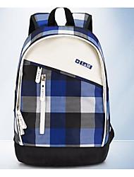 Unissex Bolsas Todas as Estações Tecido Oxford Bolsa de Ombro com para Casual Azul